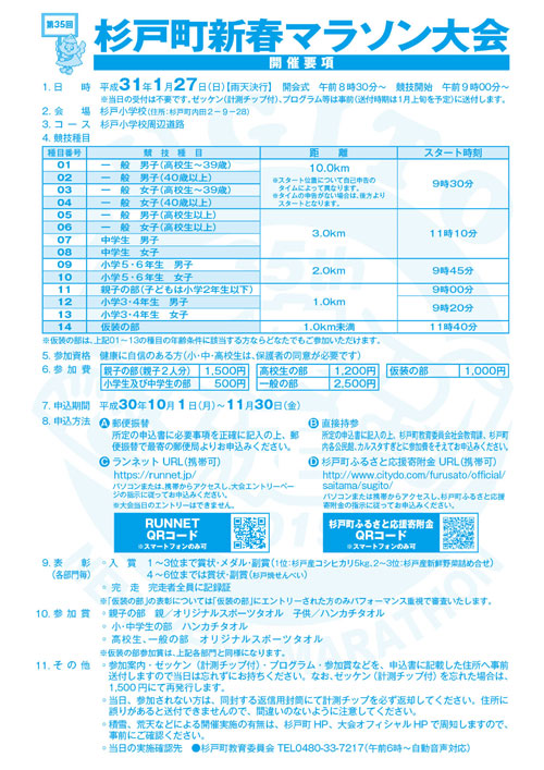 第35回杉戸町新春マラソン大会開催要項-2