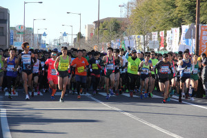 第35回杉戸町新春マラソン大会10km①
