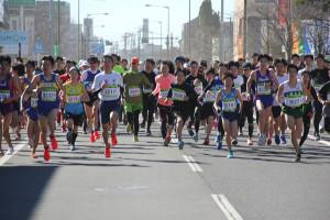 第35回杉戸町新春マラソン大会3km②