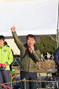 第35回杉戸町新春マラソン大会開会式④