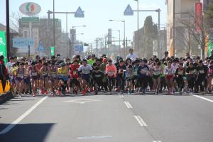 第35回杉戸町新春マラソン大会3km ①