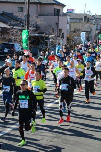 第35回杉戸町新春マラソン大会10km④
