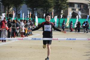 第35回杉戸町新春マラソン大会2km①