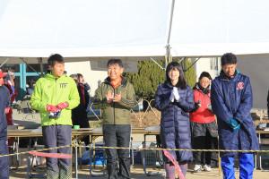 第35回杉戸町新春マラソン大会開会式⑥