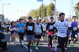 第35回杉戸町新春マラソン大会10km②