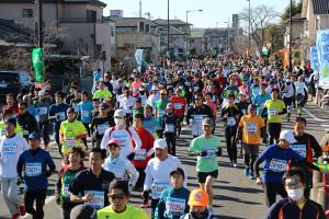 第35回杉戸町新春マラソン大会10km⑤